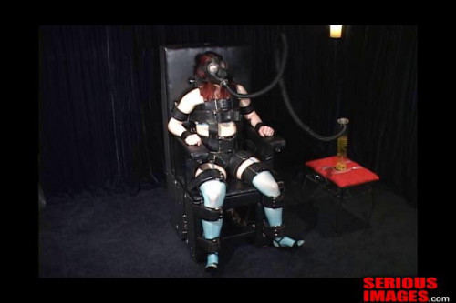 bdsm Clair Adams Meets The Sbi Bondage Chair Part 2