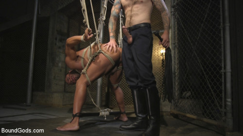 Gay BDSM Lieutenant Wildes Extreme Justice