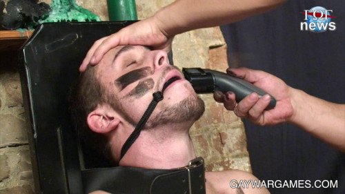 Gay BDSM Gay war games all clips 3