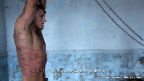 Gay BDSM Slava - The Prisoner of War - Part I