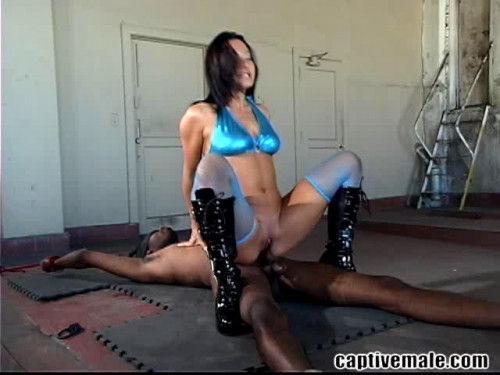 Femdom and Strapon Magic Full Collection CaptiveMale. 13 Clips. Part 4.