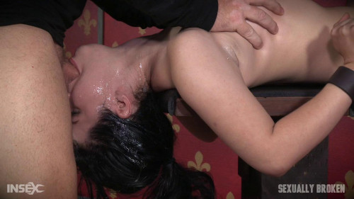 bdsm Tiny Sex slave Yhivi is bound