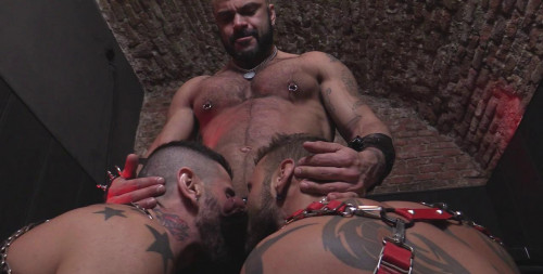 Gay BDSM Antonio And His Friends In The Creation