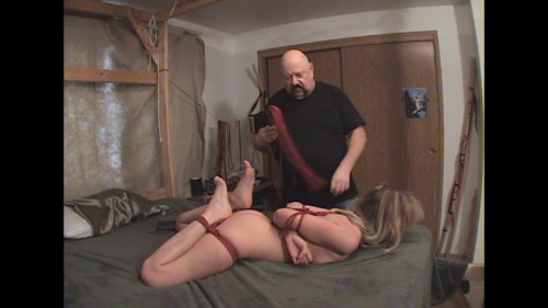 bdsm Red Butt and Bed Bound