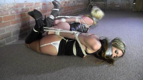 bdsm Briella Jaden, Constance, Dixie Comet - Strippers kept tied up