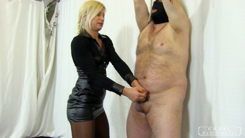 Femdom and Strapon Zitas cock and ball torture Full Version