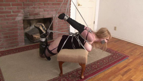 bdsm Bound and Gagged - Strict Strappado for Lorelei