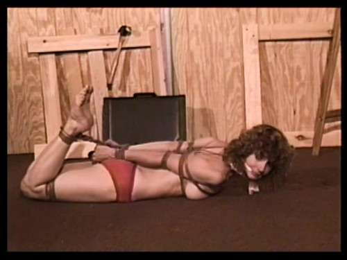 bdsm Bound and Gagged - The Money Pit Scene 2 - Lorelei is Hogtied