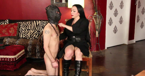 Femdom and Strapon Bad Boys Get Spanked