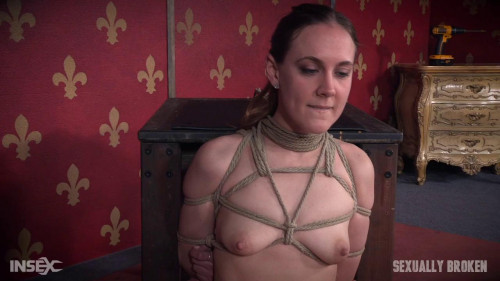 bdsm SexuallyBroken - Jun 03, 2016 - Innocent Looking First Timer Sierra Cirque Expertly Bound