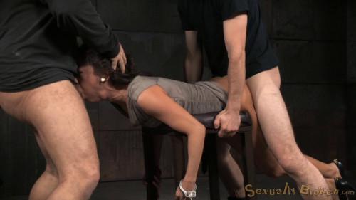 bdsm Kalina Ryus First Bondage Shoot Brutal Fucking