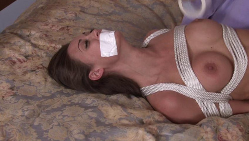 bdsm Bound and Gagged - The Blindfolded Rigger - Lorelei Ties Melissa Jacobs