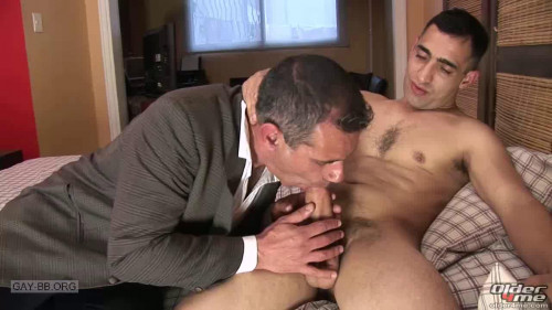 Young Daddy Cums For an Interview