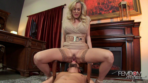 Femdom and Strapon Brandi Love The Deans Demands (2016)