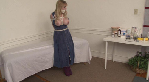 bdsm Bound and Gagged - Doctors Bind Helpless Patient Lorelei