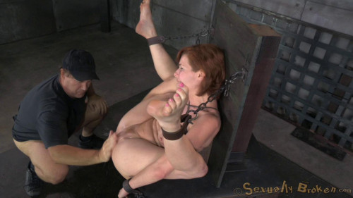 bdsm Veronica Avluv bound and fucked rough and hard, massive squirting multiple orgasms