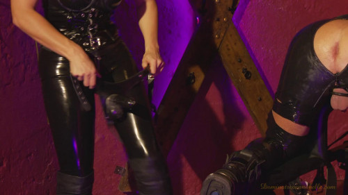 Femdom and Strapon slave episode 37