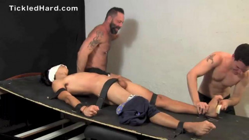 Gay BDSM Tickled Hard - Antony HD-720p