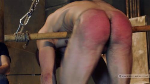 Gay BDSM RusCapturedBoys - Football Hooligan in Slavery - Final Part