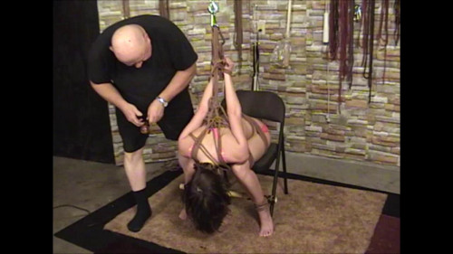 bdsm Elise In Pink and Ropes Part Two