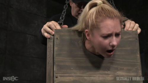 bdsm SexuallyBroken - Mar 18, 2016 - Tiny blonde Odette Delacroix bound inside a box