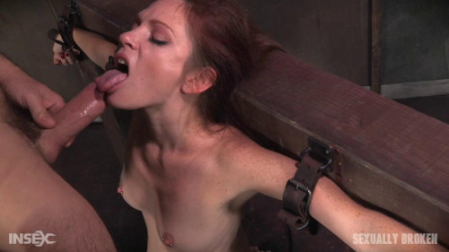 bdsm Kassondra Raine Face Fucked, Vibrated on Sybian, and Made to Cum (2016)