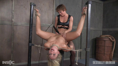 bdsm Madelyn Monroe Fucked by Couple While in Bondage