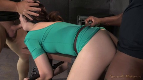 bdsm Sarah Shevon Restrained And Used Hard