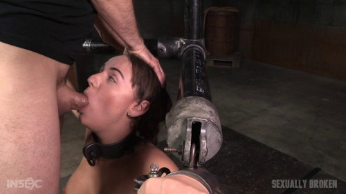 bdsm SexuallyBroken - Apr 06, 2016 - Charlotte Cross learns to multi task on a sybian