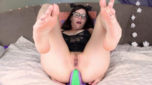Fisting and Dildo Massive Fills My Ass