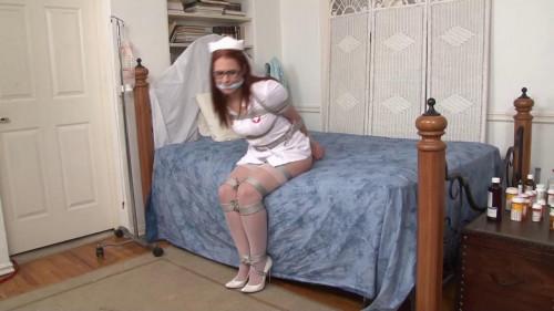 bdsm Bound and Gagged - Nurse in Bondage Chrissy Daniels