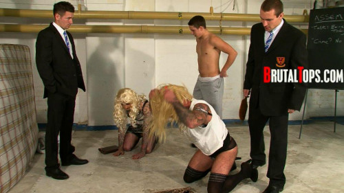 Gay BDSM School Assembly Prison Sluts (2014)