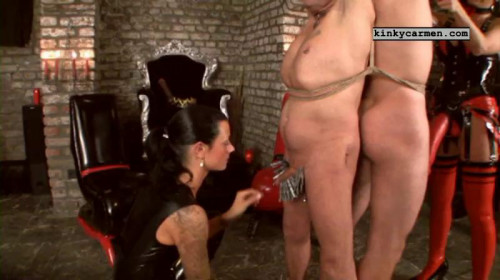 Femdom and Strapon Magic Very Good Collection Of KinkyCarmen. Part 5.