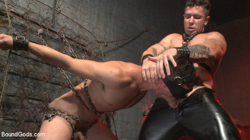 Gay BDSM The Submission of BJ Adia
