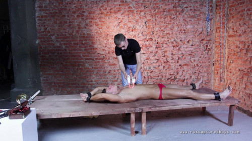 Gay BDSM RusCapturedBoys - Favourite Pain Slave Pavel - Part I
