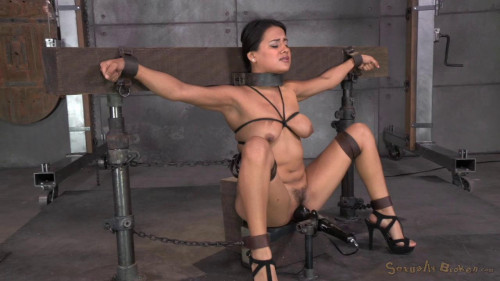 bdsm Selma Sins drilled down by two cocks