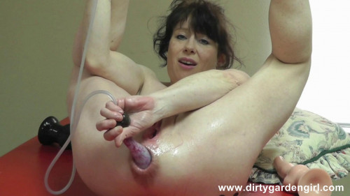 Fisting and Dildo Anal insertion extreme