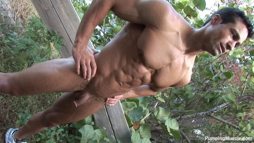 PumpingMuscle - Bodybuilder Aidan G Photoshoot Part 1