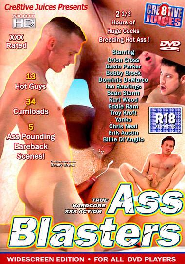 Bareback Ass Blasters (HD) - Orion Cross, Gavin Parker, Kurt Wood