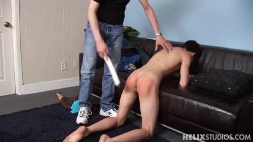 Gay BDSM Keines Ass Spanked