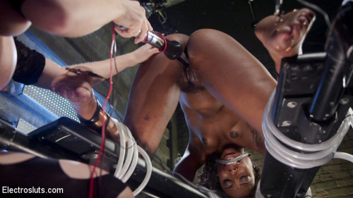 bdsm Shock the System Sexual deviant bound and lesbian electrosexed