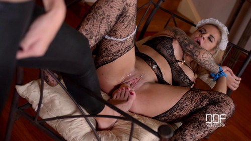 bdsm Maisie Rain, Kayla Green - Tattooed Dominatrix Educates British Housekeeper (2016)