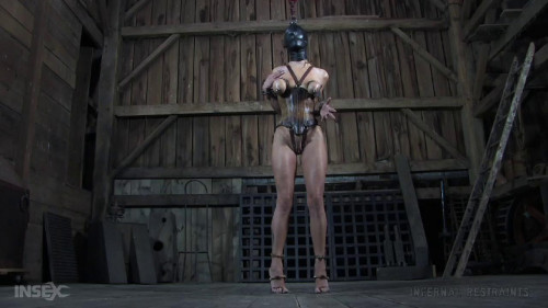 bdsm Hard bondage, torture, suspension and spanking for very hot blonde
