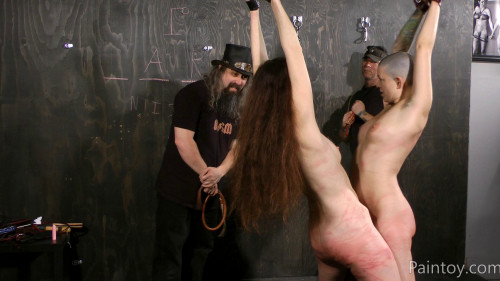 bdsm Emma And Abigail - Whips Welts And Screams