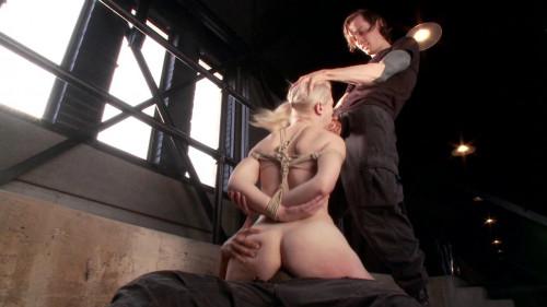 bdsm FB - 04-25-2014 Young Slut takes 2 Massive Cocks
