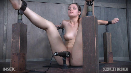 bdsm Local college coed is severely bound, vibrated to several orgasms and face fucked into subspace
