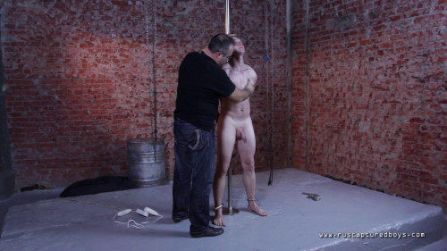 Gay BDSM Rented Captive Eugene - Finally Nude