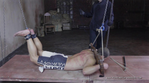 Gay BDSM Mixfighter Anatoliy - Final Part