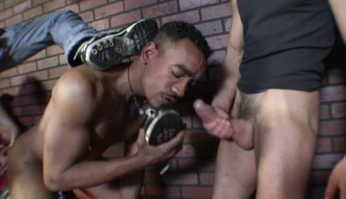 Gay BDSM Hard foot-fetish fuck