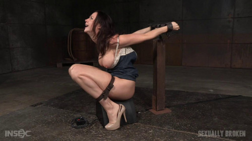 bdsm Gets A Orgasm and Facefucking Overload (Chanel Preston) Sexually Broken